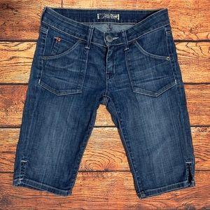 Hudson Bermuda Long Jean Shorts